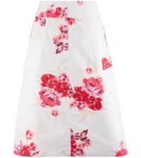 Pretty Perfect Floral Skirt