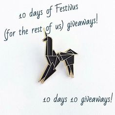 #Repost @battlebornpins  In celebration of Festivus we are having 10 days of giveaways!  Up first is the first pin we created.  To enter:  follow us like the photo and comment @ a friend who would like the pin!  Must do all three to win and winners will be selected at random daily!  #fortherestofus #festivus #enamelpins #pins #pin #pingame #enamelpin #flair #hatpins #lapelpins #punkpins #pinstagram #pinsaddiction #pinning #pinsofig #streetwear #patchgame #softenamelpins #pincollector…