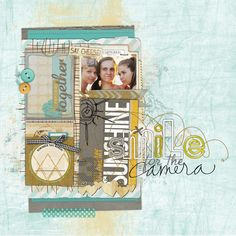 Smile-for-the-camera LOVE this #scrapbook page by Nath at #designerdigitals