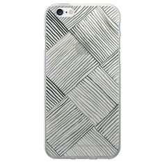 iPhone 6/6S Case - OTM Artist Prints Clear - Woven