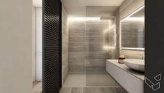 Appartement P - Lippenslaan Knokke - Lievois Bathroom Cleaning, Home Interior Design, Alcove, Bathtub, Deco, Bathrooms, House, Houses, Standing Bath