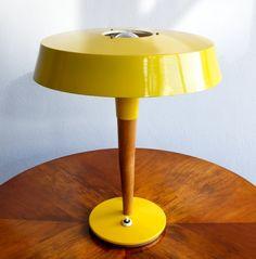 Lustry Kamenický Šenov desk lamp, 1960s