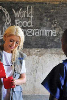 When My Children Read This in 10 Years, I Hope the Hunger Crisis Is  History // Christina Aguilera