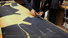 I had the pleasure to visit one of the British finest Bespoke tailors on Savile Row, Anderson & Sheppard. This video showcases head cutter, Mr John Hitchcock and Anderson & Sheppard's staff in the cutting room.  I hope you will enjoy...  www.anderson-sheppard.co.uk