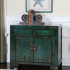Syretta Hardwood Console Cabinet