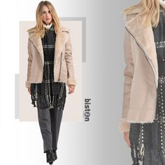 Biston γυναικείο κοντό πανωφόρι μουτόν από συνθετική γούνα -Κλείσιμο με φερμουάρ -Χρώματα : Μαύρο, Μπεζ -Σύνθεση : 100%Πολυεστέρας -Φόδρα : 100% Πολυεστέρας -Συλλογή : Φθινόπωρο - Χειμώνας Duster Coat, Social Media, Posts, Womens Fashion, Jackets, Down Jackets, Messages, Women's Fashion, Social Networks