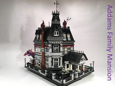 LEGO Ideas - Addams Family Mansion. Support this idea on LEGO.com to get it approved as an actual LEGO set!
