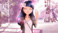 Marinette Long hair♥ #editseveryday