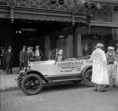 Louisville Booster automobile, Louisville, Kentucky, 1927. :: R. G. Potter Collection