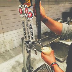 cheers!  it's official, our tap is up and running and we are now serving 4 #local craft beers, local starfruit kombucha from Kombulicious, and nitro cold brew on tap. craft beers include @jwakefieldbrewery El Jefe, @concretebeachfl Tropic of Passion and Concrete Common, and @miabrewing Vice City -- pair them with our DIRTy Steak + Cheese, Crispy Fish Po'boy, or B.B.A.T.  #dirt #finefoodfast #eatclean