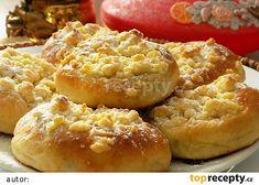 Šlehačkové koláčky recept - TopRecepty.cz Czech Recipes, Russian Recipes, Biscuit Cookies, Biscuits, Muffins, Food And Drink, Pie, Sweets, Bread