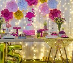 Flamingo Birthday, Luau Birthday, Birthday Parties, Party Decoration, Birthday Decorations, Tropical Party, Super Party, Luau Party, Neon Party