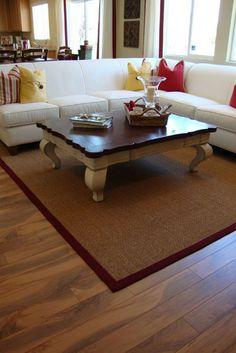 Living Room with Wood Floors. Living room with beautiful wood floors and accent , Hickory Flooring, Engineered Wood Floors, Hardwood Floors, Interior Stairs, Interior And Exterior, Interior Design, Stairs Trim, Living Room Wood Floor, Outdoor Rugs