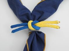 1001 Goals: Cub Scouts, knot neckerchief slide