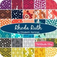 Rhoda Ruth Fat Quarter BundleElizabeth Hartman for Robert Kaufman Fabrics