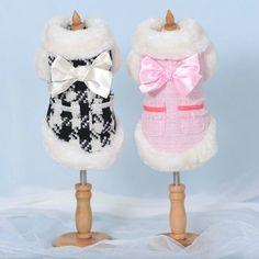 Outono Inverno, de alta qualidade pequenos Cão Roupas Casacos Roupas Quentes Jaqueta Suéter | Artigos para animais, Suprimentos para cães, Roupas e sapatos | eBay!