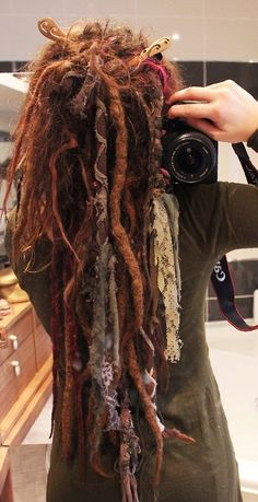 Peace Love and Dreadlocks - with lace! <3 These are GORGEOUS