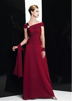 Buy discount Stunning Chiffon A-line Bateau Floor Length Mother of the Bride Dresses at Dressilyme.com