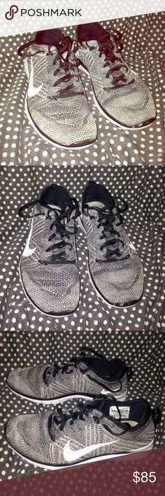 Nike Free Tr Flyknit shoes *Preowned *Like New *No stains *Only thing is the front edge paint is scratched off a bit on both shoes 💕Make Me An Offer 💕 Nike Shoes Athletic Shoes