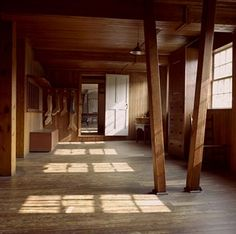 Laundry, drying and ironing rooms, second floor - Canterbury Shaker Village, Canterbury, NH - Photo by Christopher Guzzi