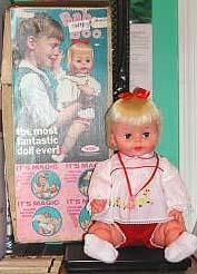 Vtg 1965 Baby Boo Doll ~ Made by Deluxe Reading Corp.