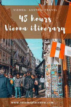 The best 48 hours Vienna Itinerary - includes Vienna's top sights, Viennese experiences, cuisines and more. Read to craft your perfect 2 day Vienna itinerary#viennatravel #vienna