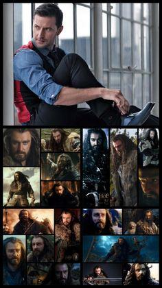Richard Armitage is Thorin Oakenshield by Ithiliel-o-Gondolin.deviantart.com on @deviantART