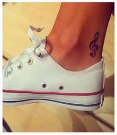 Music Note Tattoos For Girls 2014