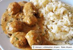 Pork Recipes, Chicken Recipes, Cooking Recipes, Pork Dishes, Pasta Dishes, Easy Delicious Recipes, Yummy Food, Hungarian Recipes, Food 52