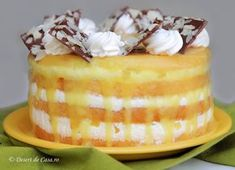 Cake Flavors, Chocolate Desserts, Cake Art, Diy Food, Beautiful Cakes, Vanilla Cake, Bacon, Cheesecake, Deserts