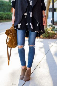 Embroidered and Layered for Fall | Little Blonde Book A Fashion Blog by Taylor Morgan