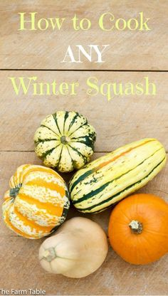 How to cook any winter squash, the quickest and easiest way. Full of A, B &…