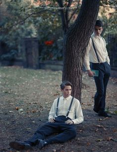 Kristofj & Sean, New Wave Men's Mag, Styled By Grace Joel