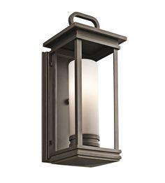 Kichler Lighting South Hope 1 Light Outdoor Wall Lantern in Olde Bronze 49475RZ