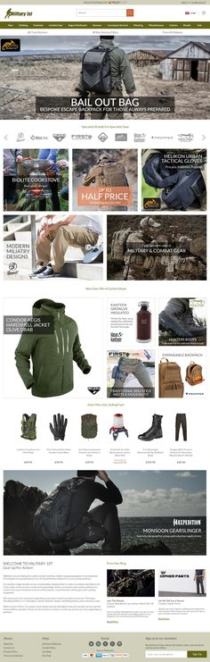 Military Apparel Ecommerce - Digital Product Designer Bail Out Bag, Military Apparel, Rachel Green, Ecommerce, Web Design, Anna, Digital, Bags, Handbags