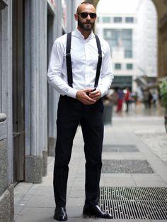 suspenders #summer #men's #fashion