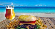 Best Burgers on Anna Maria Island Burger And Fries, Good Burger, Burgers, Eggplant Fries, Char Grill, Irish Beer, Beach Cafe, Angus Beef, Anna Maria Island
