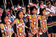 ../adventure travel/Myanmar Adventure Naga Girls dancing at New Year Festival.jpg