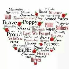 We'd like to recognize this day as a day to remember those who've fought for the freedoms we are all fortunate to have today in 2015 and beyond. Lest we forget.