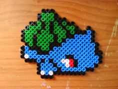 Bulbasaur (2) (Evantares) Tags: ikea beads patterns pokemon hama patrones bulbasaur pyssla evantares