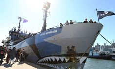 Bob Barker - Japanese whaling fleet attacked Sea Shepherd ship, says activist group Sea Shepherd says two harpoon ships crossed the bow of Bob Barker at close range while dragging steel cables