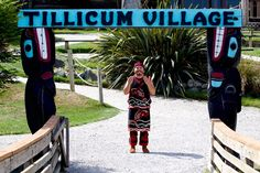 Tillicum Village - expensive -- Girl Scouts used to go there to hike and learn from the Indians about their culture. it was great