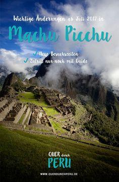 In Machu Picchu ändert sich demnächst einiges! Wir haben dich ja schon vor einigen Wochen über die Neuerungen in Machu Picchu informiert.Vor wenigen Tagen erreichte uns dann die aufgeregte E-Mail einer Leserin, die uns darauf hingewiesen hat, dass sich ab dem 01. Juli 2017 noch viel mehr in Machu Picchu ändert, als zunächst angenommen. Worum es sich bei diesen Änderungen handelt und was das für deine Peru-Reise bedeutet, erfährst du in diesem Artikel.