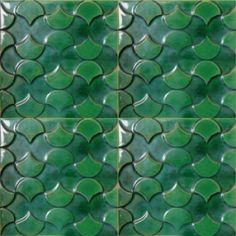 Portuguese tiles Handmade tiles can be colour coordinated and customized re. shape, texture, pattern, etc. by ceramic design studios
