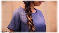 Side Braid - Indian Youtuber Sarita Upadhyay