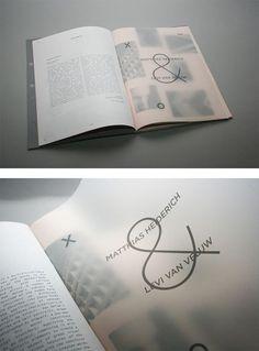 Crossover Festival Branding by Jonathan Finch & Stephanie Oglesby | Inspiration Grid | Design Inspiration: