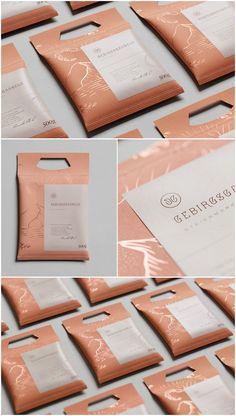 Studio HEED - The Mountain Shrimp #freshFood #packaging