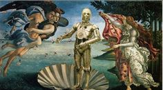 <b>Classic paintings with a pinch of Star Wars.</b>