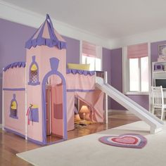 This would be so much fun for a little girl's room!!