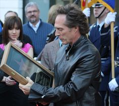William Fichtner receives a star during the Buffalo Niagara Film Festival.